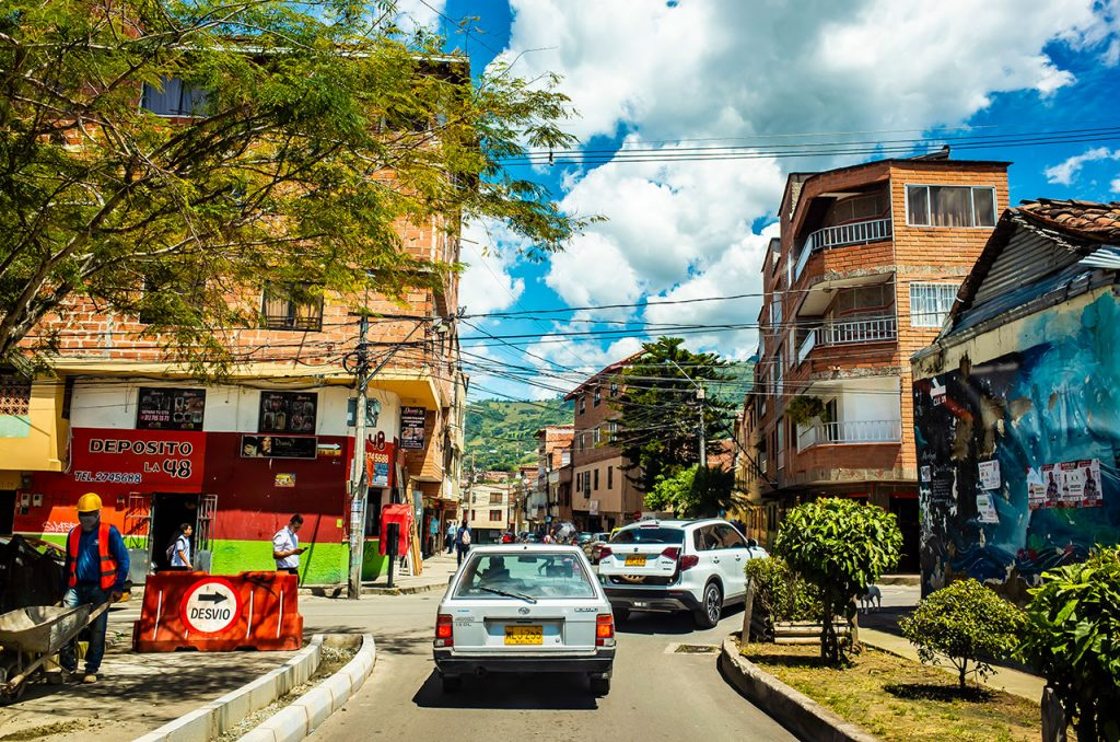コパカバナの路地