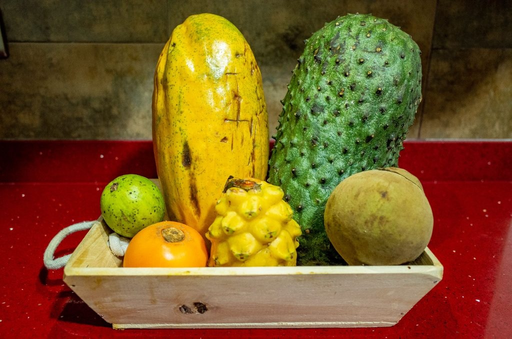 メデジンのフルーツ