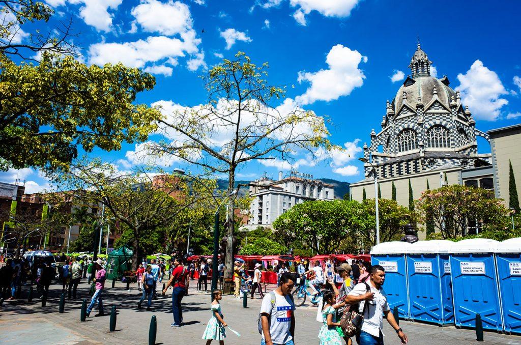 Plaza Botero(プラサ ボテロ)という広場