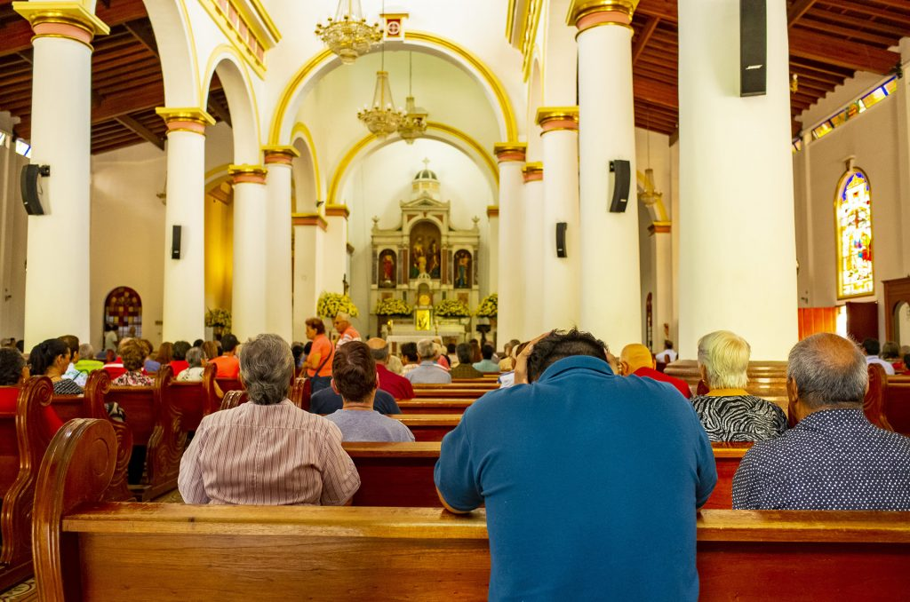 サンタ・アナ教会の内部