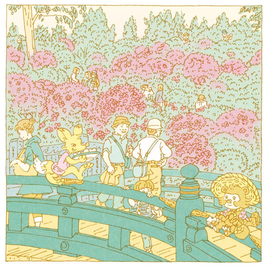 『根津神社』のイラスト