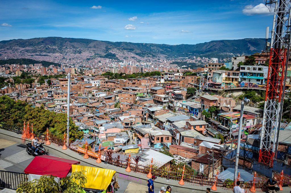 Comuna 13の景色
